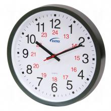 Matrix Industrial Products HT072 - 12/24 H Battery Operated Wall Clocks