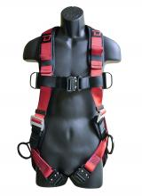 Dynamic Safety International FPX1003D - HARNESS DYNA-PRO ALUM 3D