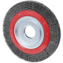 Jet 550124 - Crimped Wire Wheel Brushes - High Performance (for Bench Grinders)